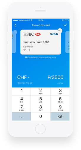 Blockchain Finance App